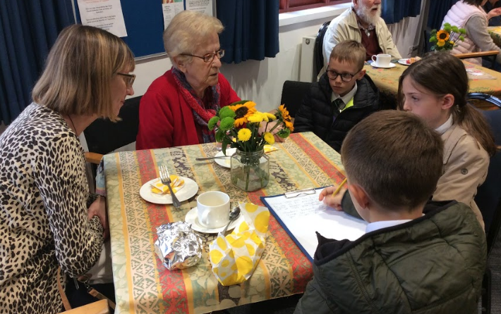 Community Cafe attracts all ages!!