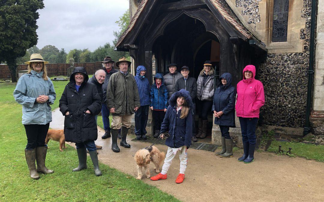 SCCF Autumnal Community walk.