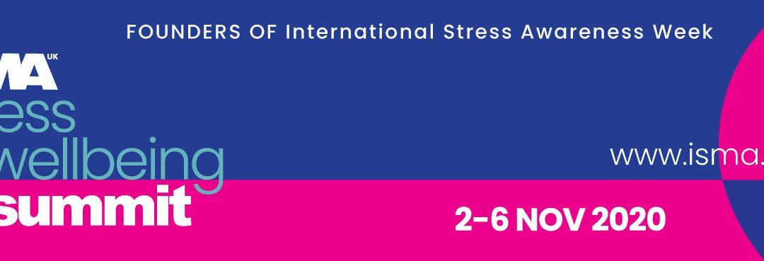 ISMA STRESS & WELLBEING SUMMIT 2020