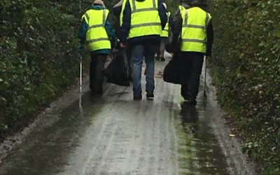 Litter picking Angels in our midst