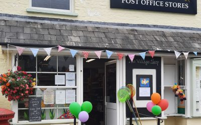 Celebrating 10 years as a Community store and Post Office